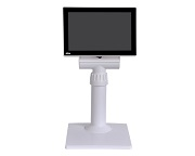 7 Flat LCD TFT Monitor w/Pole Stand