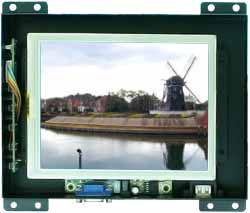6.4 inch Open Frame Display Optional Touch